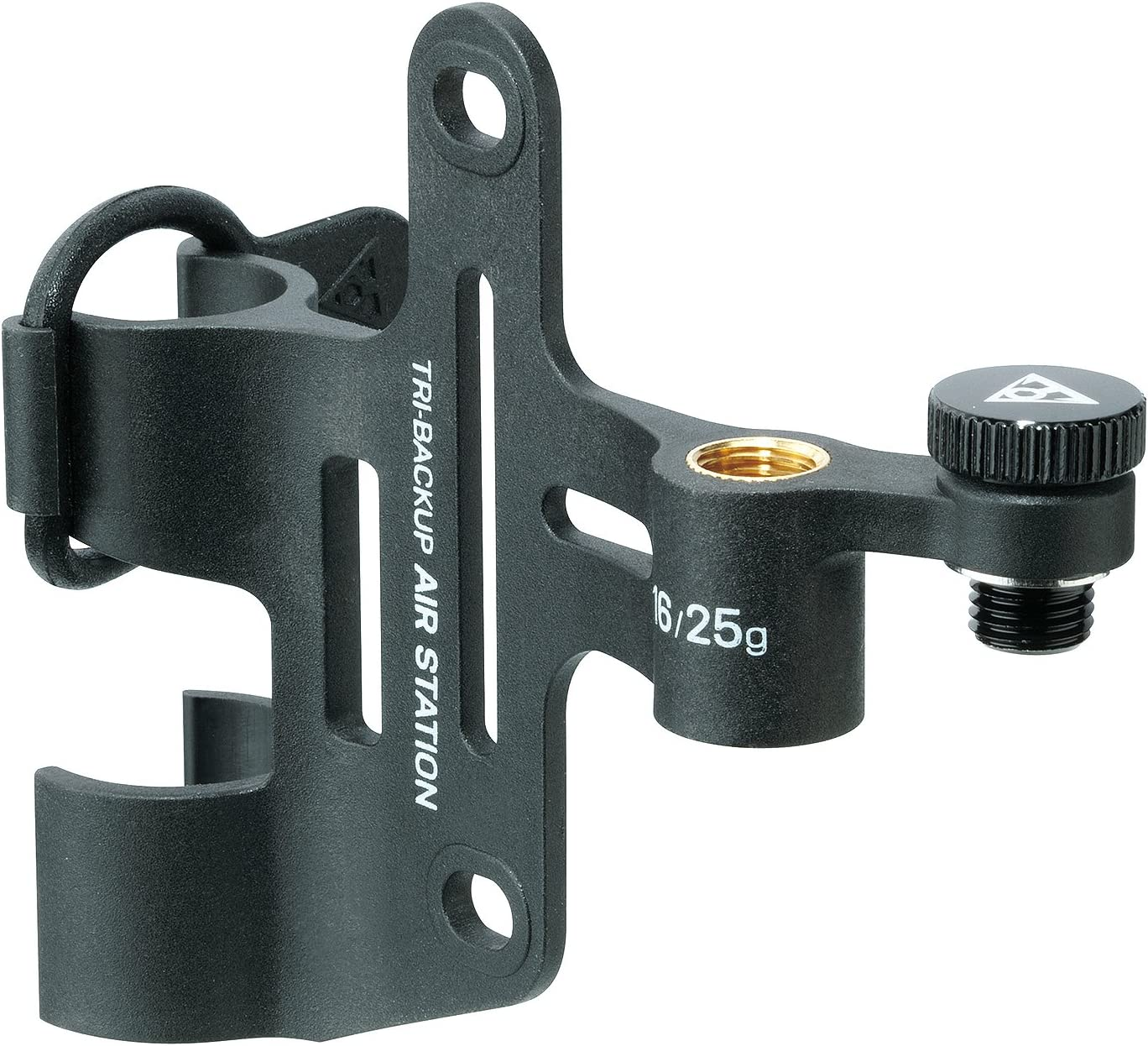 Topeak Tri-BackUp Air Station Mini Pump & CO2 Inflator Mount