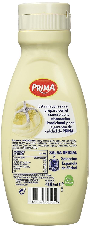 Prima Bote Mayonesa - 400 ml
