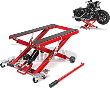JOMAFA ELEVADOR HIDRAULICO MOTOS Y QUADS/ATV 500KG PLATAFORMA DE ELEVACION PARA MOTOCICLETAS: Amazon.es: Bricolaje y herramientas