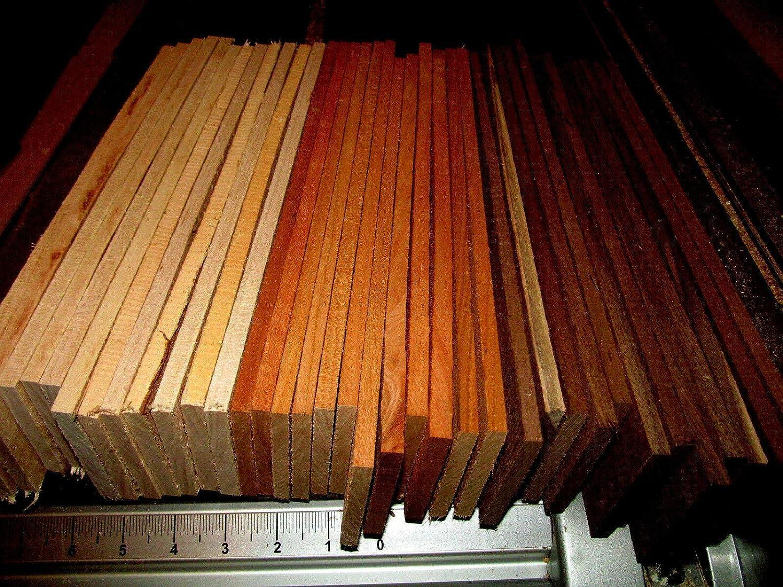 21 KILN Dried Sanded Thin Walnut Wood Cherry MULTIPAK Maple 12 X 3 X 1//8