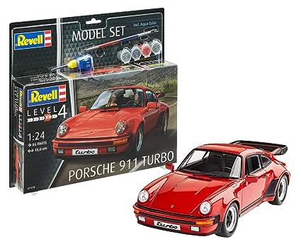 Revell 67179 Porsche 911 Turbo - Juego de modelos, escala 1:24