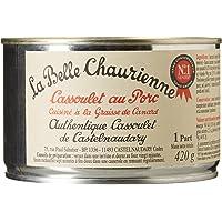 La Belle Chaurienne Cassoulet au Porc Cuisiné à la Graisse de Canard 420 g - Lot de 3
