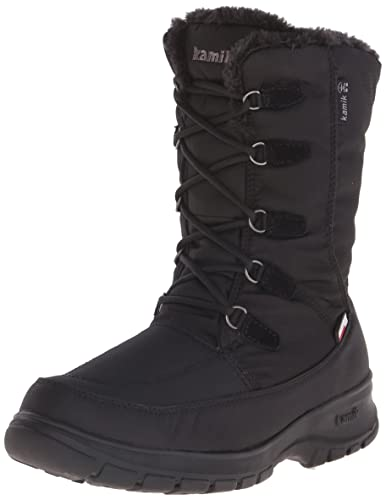 089003a327ba Amazon.com | Kamik Women's Brooklynw Insulated Winter Boot | Snow Boots
