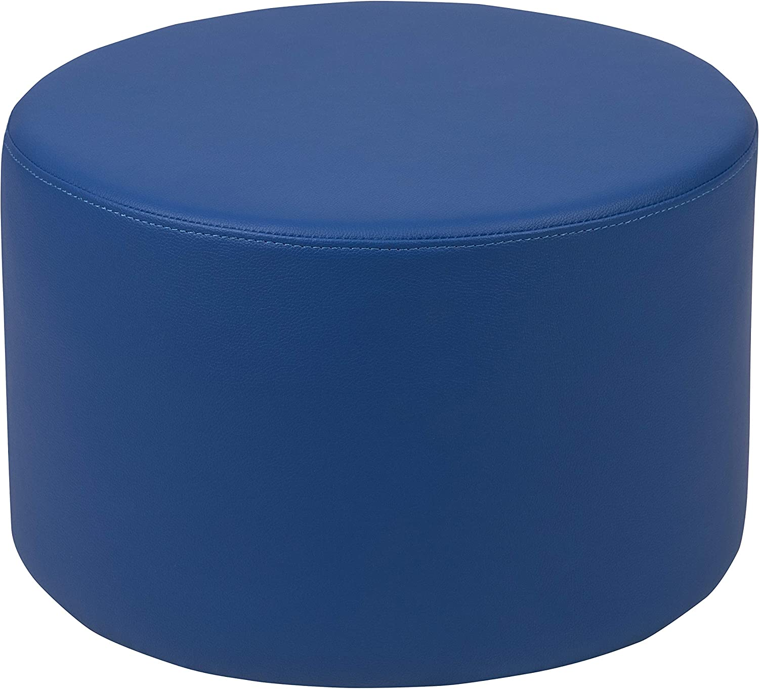 """Flash Furniture Soft Seating Collaborative Circle for Classrooms and Daycares - 12"""" Seat Height (Blue)"""