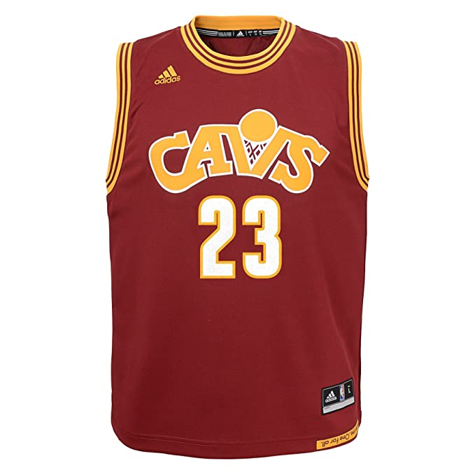 new styles e7a34 e0de2 NBA Youth 8-20 Cleveland Cavaliers James Replica stretch Alternate jersey