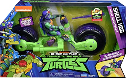 Amazon.com: Rise of the Teenage Mutant Ninja Turtles Shell ...