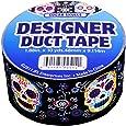 JFL 2536 Sugar Skulls Duct Tape 1.88 in X 10 yds (48 mm x 9.114 m)