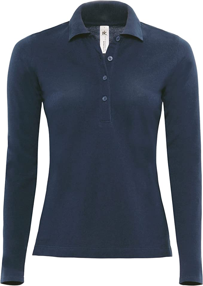 Langarm-Poloshirt Safran Pure Farbe:Royal;Gr/ö/ße:S S,Royal