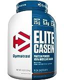 Dymatize Elite 100% Micellar Casein Slow Absorbing Protein, Rich Chocolate, 4 lbs