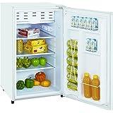 ImpeccaClassicCompactRefrigeratorand Freezer, Single Door Reversible DoorRefrigerator 3.3 cubic feet, White