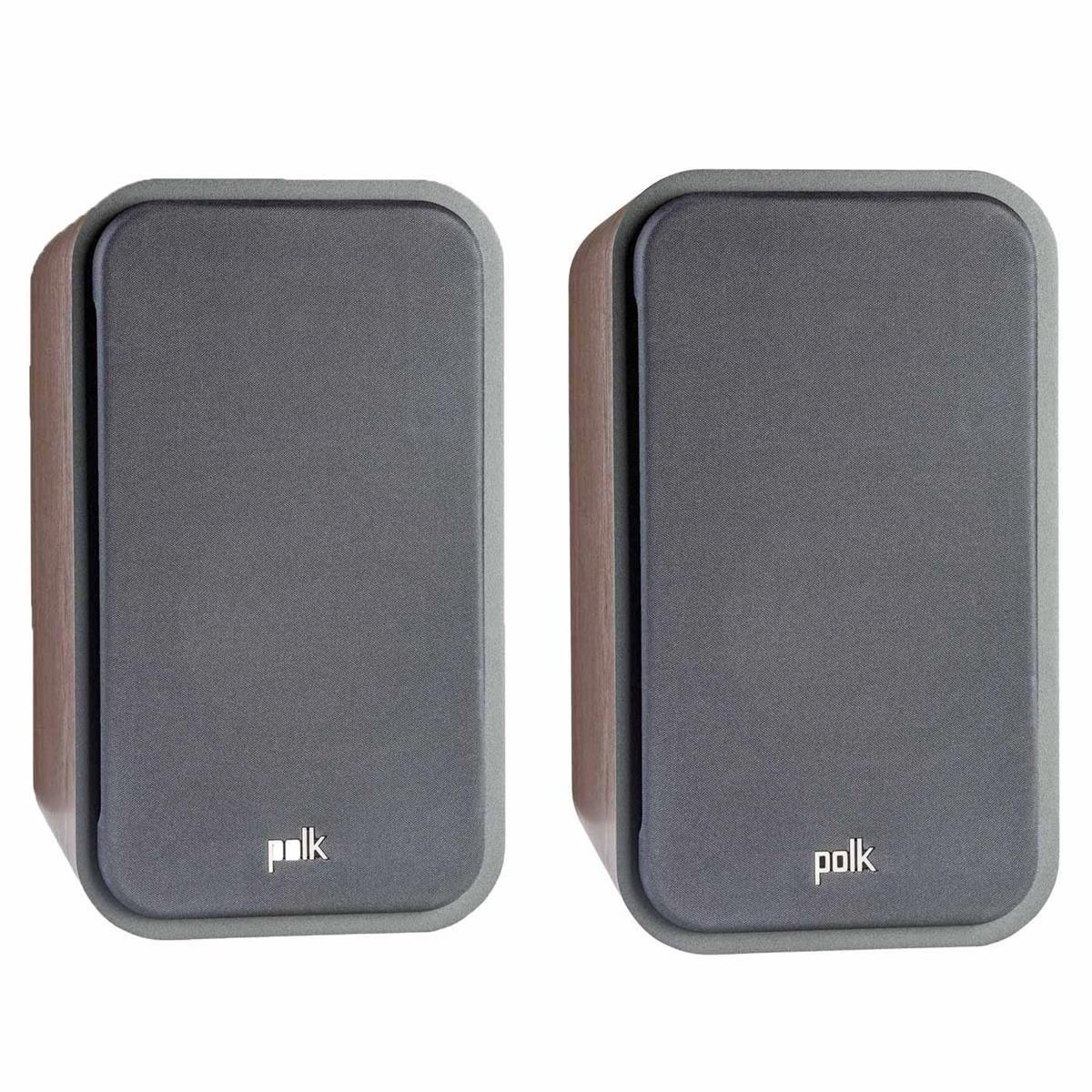 Polk Audio Signature Series S20 American Hi-Fi Home Theater Large Bookshelf Speakers - Pair (Classic Brown Walnut) by Polk Audio