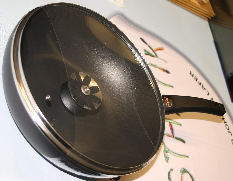 Berndes Clever Special Wokpfanne 30 cm Induktion mit Glasdeckel