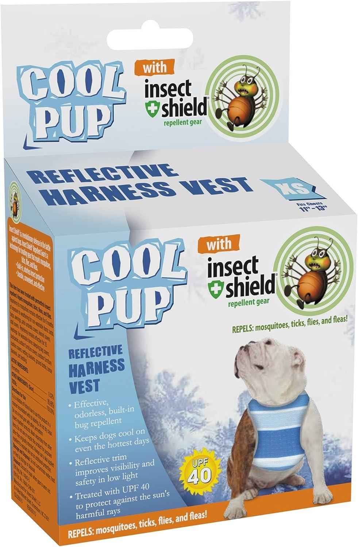 Cool Cachorro con Insectos Escudo Repelente de Insectos diseño de ...