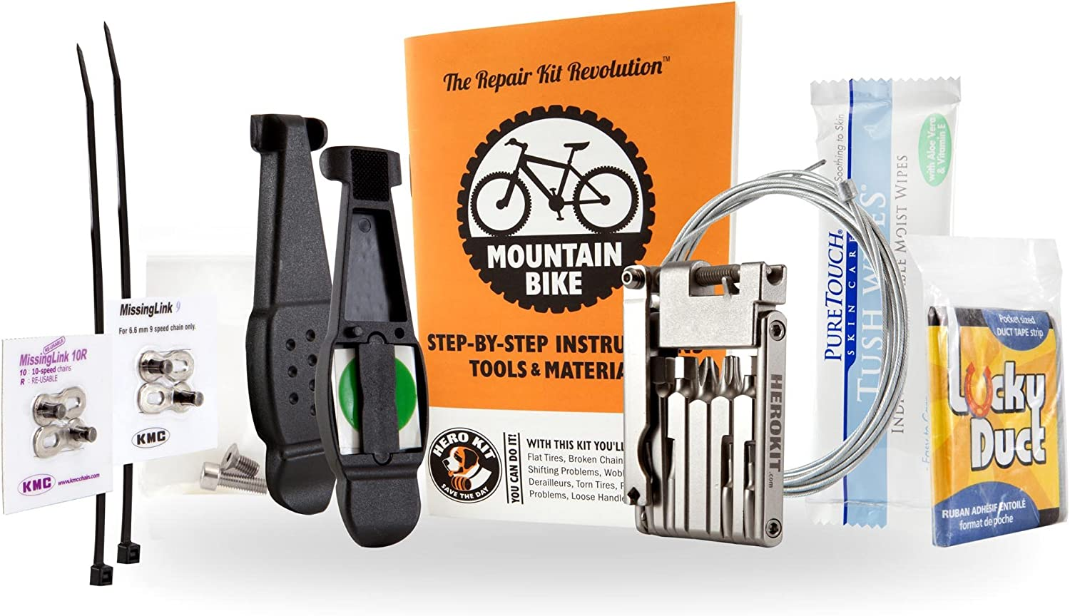 Mountain Bike Repair Kit – Light, Compact, Great Value