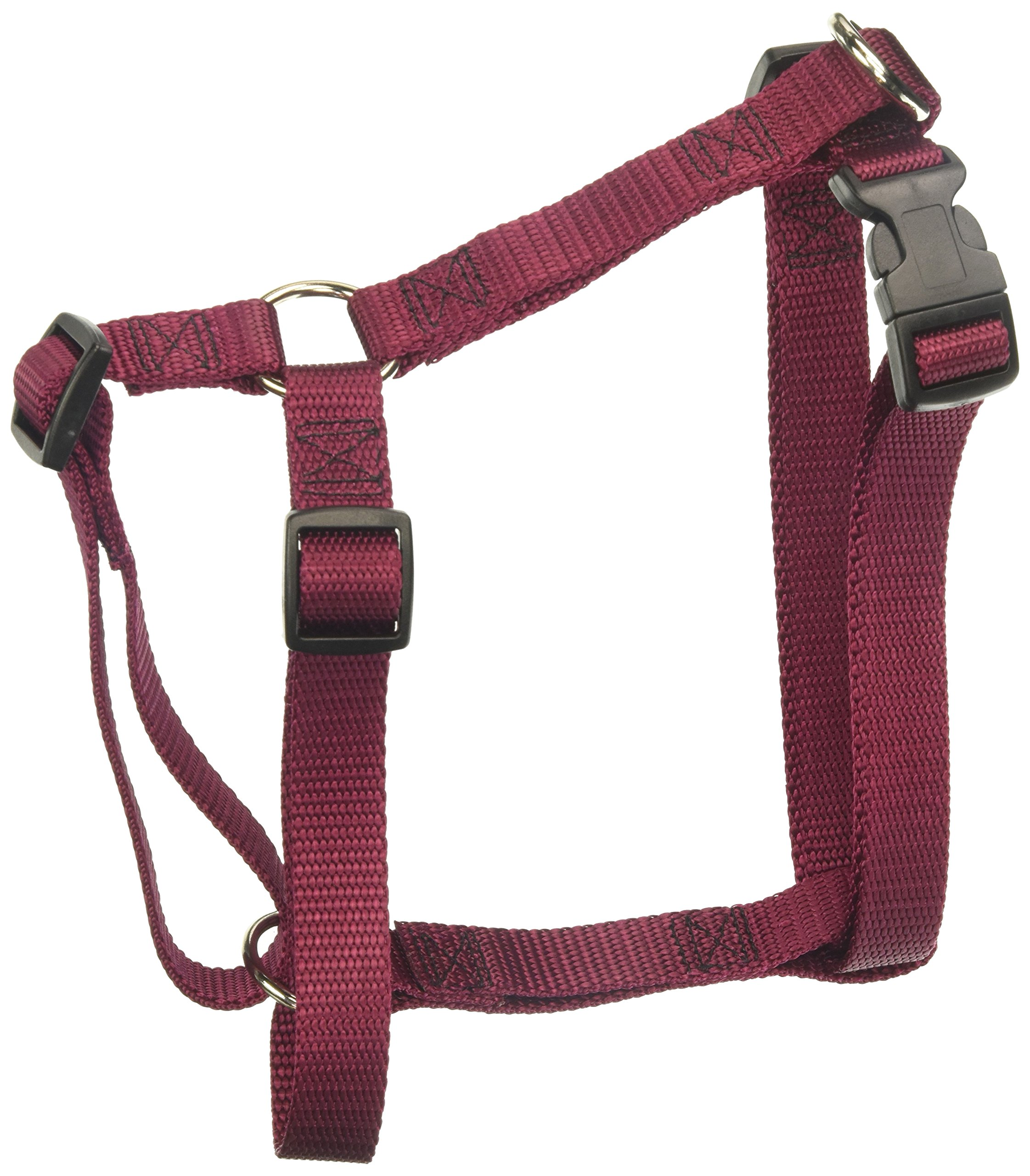 20in   28in Dog Harness Burgundy,  Lrg 40   120 lbs Dog By Majestic Pet Products