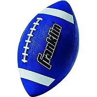 Franklin Sports Grip-Rite 100 - Balón de fútbol Juvenil, Color Azul
