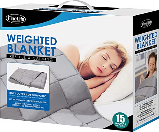 St teil Weighted Blanket Weighted Heavy Blanket for hot sleapers. 41 * 60 ICY Cooling Cover
