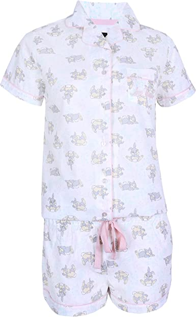 Pijama Crema Conejo Tambor (Disney)