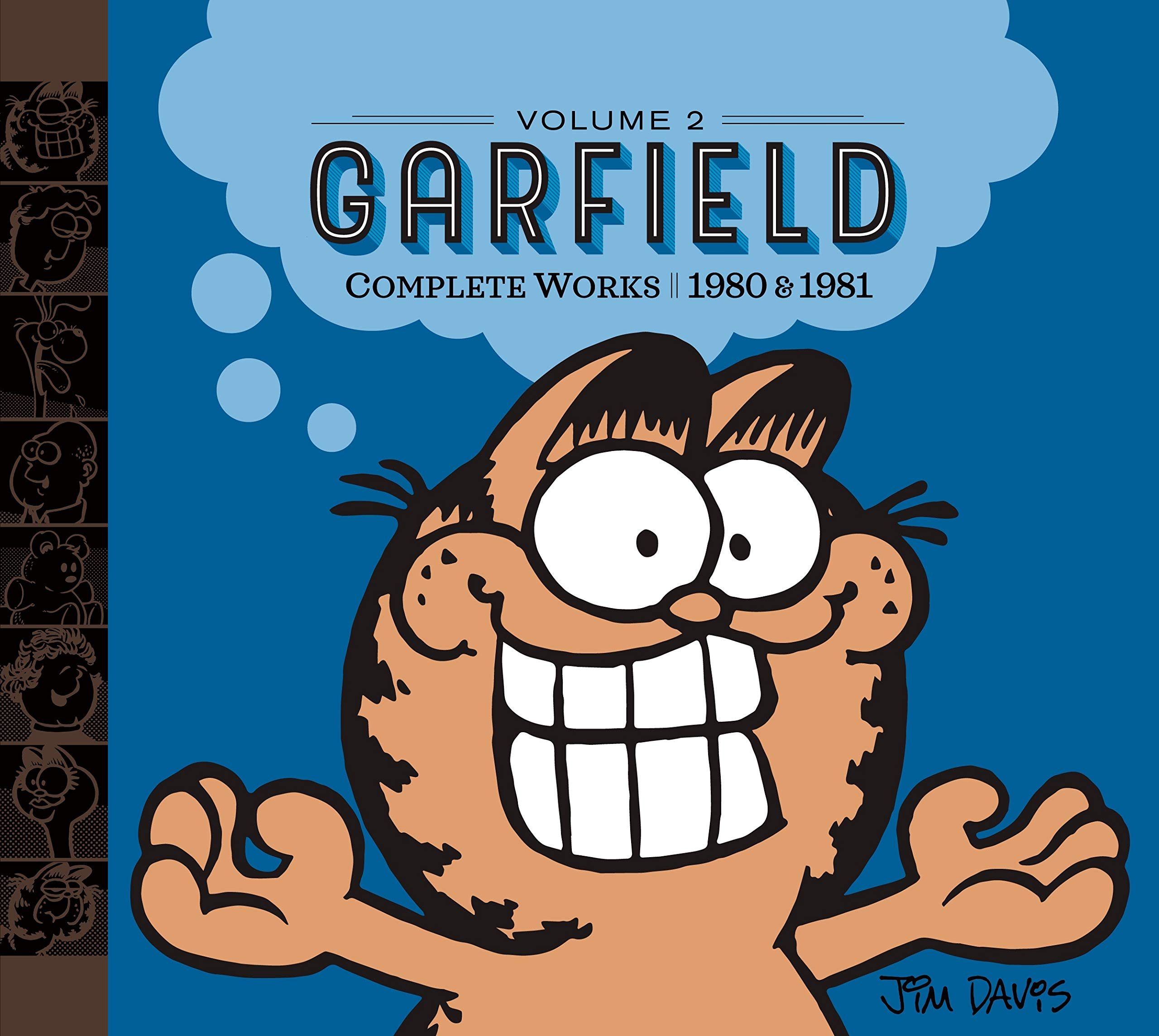 Amazon Com Garfield Complete Works Volume 2 1980 1981 9780425287132 Davis Jim Books