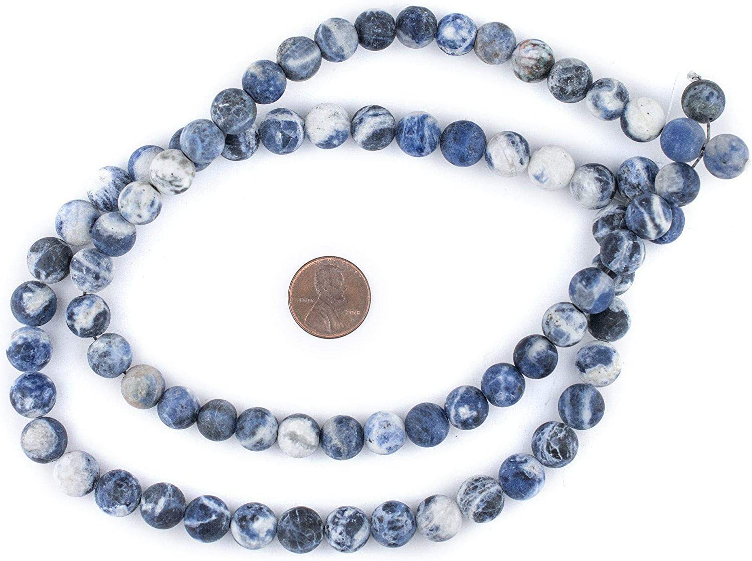 10 or 12 MM Smooth Round Beads Natural Gemstone Beads Ship within 24 Hr from USA 8 Full Strand Sodalite 6 G2701W22272832MS-BH:6,10mm
