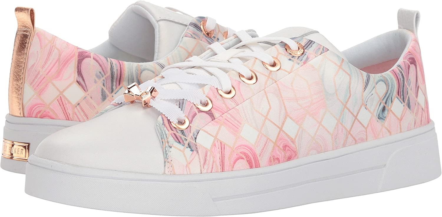Ted Baker Women's Ahfira Sneaker B077H1Y6JZ 9 B(M) US|Sea of Clouds Textile