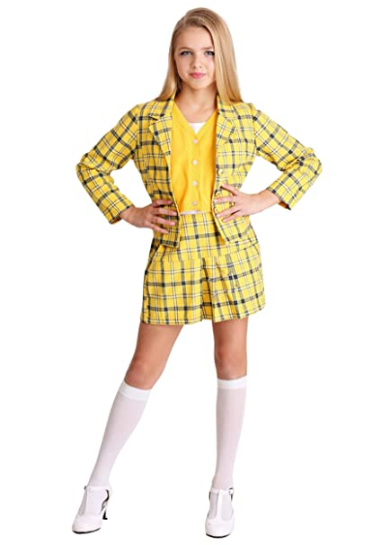 new york 50% off look out for Amazon.com: Girls Clueless Cher Costume: Clothing