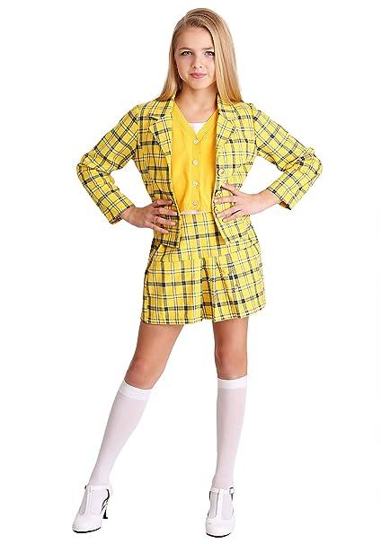 Amazon.com Girls Clueless Cher Costume Clothing