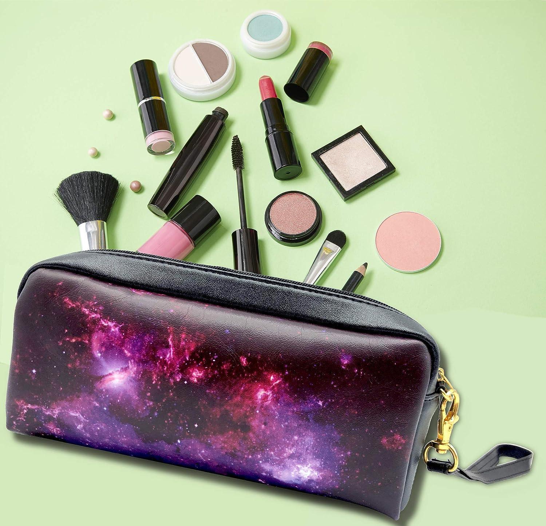 laptop case make up bag everything bag Galaxy Bags gift pencil case carry all bag stocking stuffer diaper bag purple bag