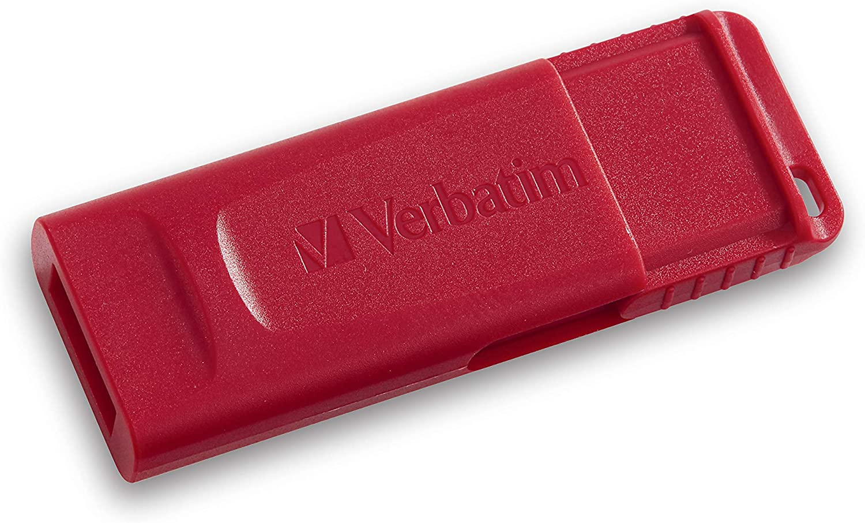 Green Blue PC // Mac Compatible Verbatim 32GB Store n Go USB Flash Drive 3pk Red