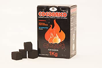 Cubos de carbón para NARGUILE NARGUILE Nargile Shisha De Coco | 1kg [ARTUROLUDWIG]