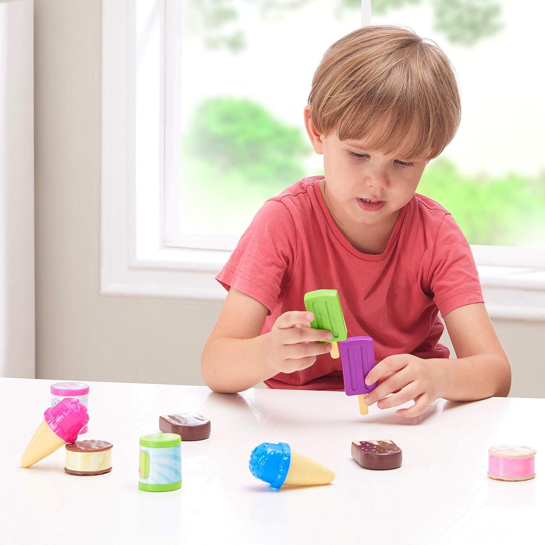Frozen Dessert Play Set Ice Cream Variation 12-Piece Spark Create Imagine