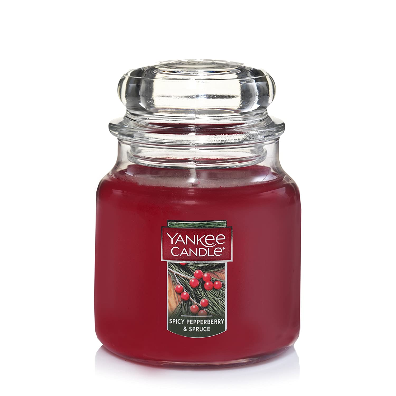 Yankee Candle Large 2-Wick Tumbler Candle, Spicy Pepperberry & Spruce Yankee Candle Company 1556336Z