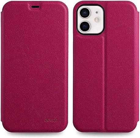 Doupi Flip Case Für Iphone 12 Mini Deluxe Schutz Computer Zubehör