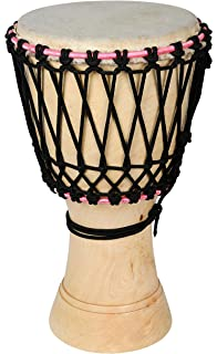 Speed International Natural Coloured Djembe Musical Instrument (8, N-NATURAL)