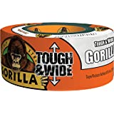 """Gorilla White Tough & Wide Duct Tape, 2.88"""" x 25 yd, White, (Pack of 1)"""