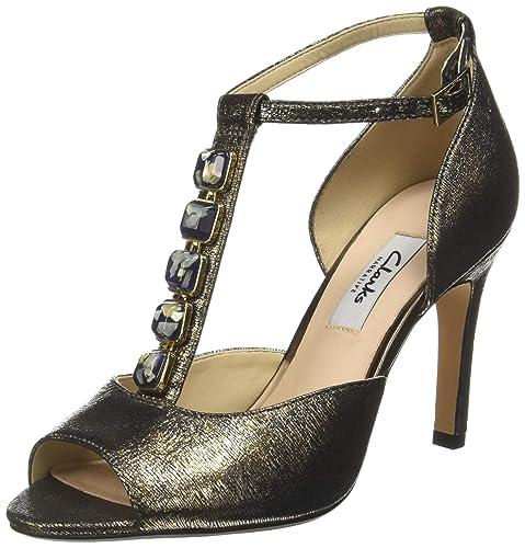 fdc082c7ddb7c3 Clarks Women s Curtain Crush Beige Fashion Sandals - 4 UK India (37 ...