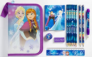 Disney Frozen - Estuche para lápices, Color Morado: Amazon ...