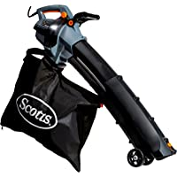 Scotts 14-Amp 3-in-1 Corded Electric Blower/Vac/Mulcher (Black/Grey)