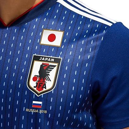 Camiseta del equipo de Japón de la World Cup 2018 de Rusia, hombre, azul