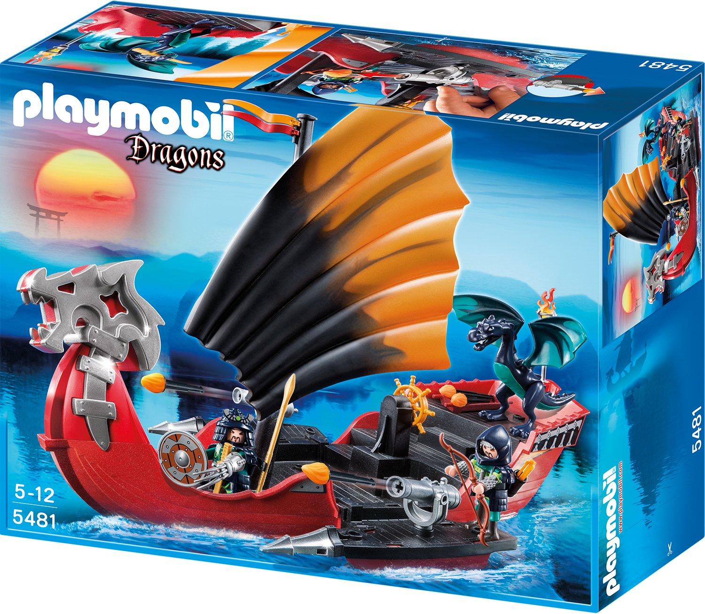 Spielzeug Drachenburg - Playmobil Drachen Kampfschiff