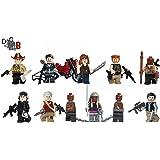 Custom The Walking Dead 6 Mega Paquet - Rick, Daryl, Glenn, Michonne, Gouverneur, Abraham