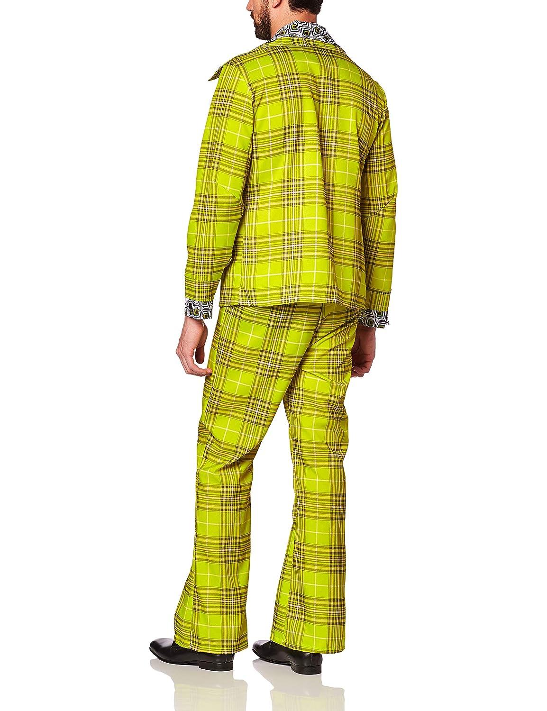 Mens Plaid Leisure Suit Costume