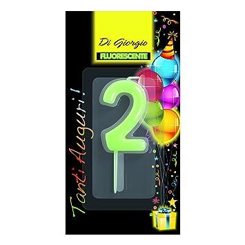 Cereria de Giorgio 5426 _ 62 vela de cumpleaños número 2 ...