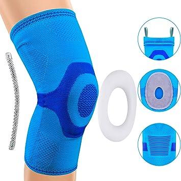 Sensación de opresión en la articulación de la rodilla