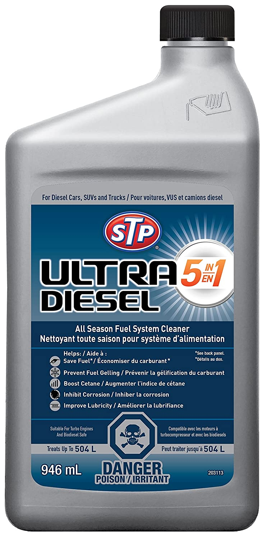 STP 17987 Ultra 5-in-1 Diesel All Season Fuel System Cleaner, 1 17987B
