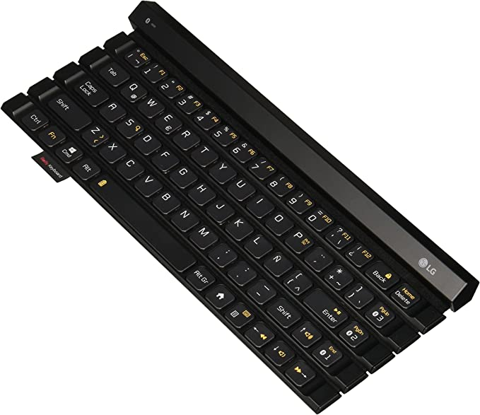 LG Rolly teclado 2 kbb-710 portátil Bluetooth Flexible diseño de ...