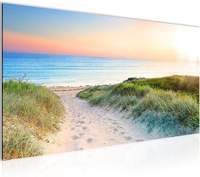 Leinwand Wandbilder Keilrahmenbilder Meer Nordsee3 vierteilig je 40cm*40cm