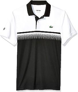 55843444 Lacoste Men's Sport Short Sleeve Color Blocked Polo at Amazon Men's ...