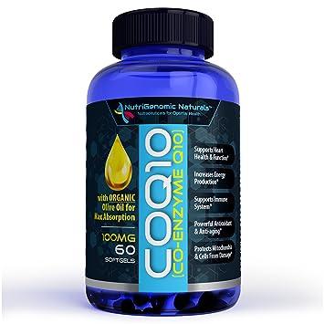 Amazon.com: CoQ10, CoEnzyme Q10, la más alta absorción con ...