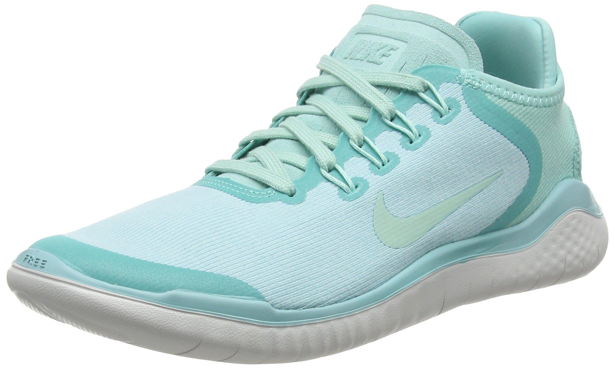 8c6581d03932 Galleon - Nike Free Rn 2018 Sun Sz 6.5 Womens Running Island Green Igloo-Vast  Grey Shoes